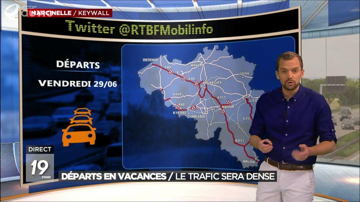 Départs en vacances : le trafic sera dense