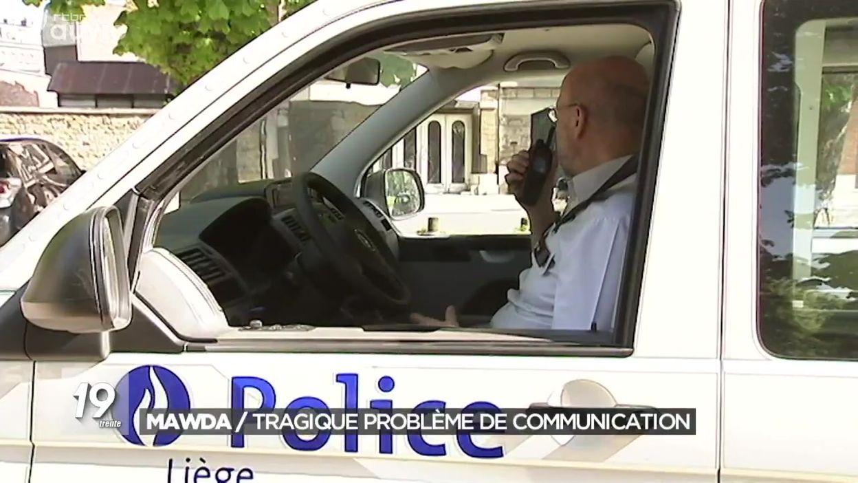 Dossier Mawda : flop de communication entre services d'ordre