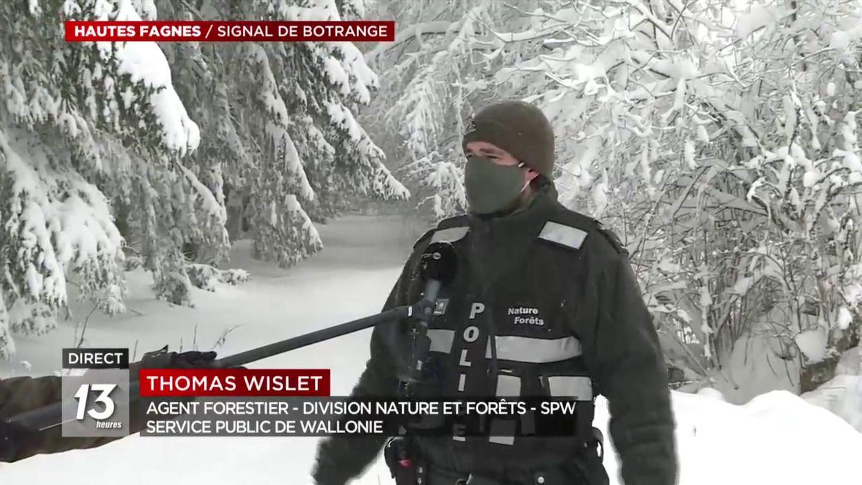 Hautes Fagnes: opérations de contrôle menées par le DNF