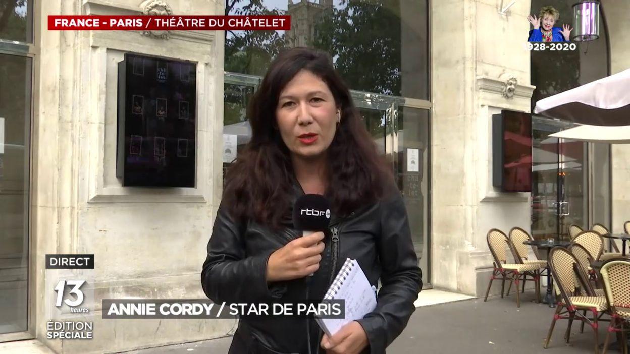 Annie Cordy: star de Paris