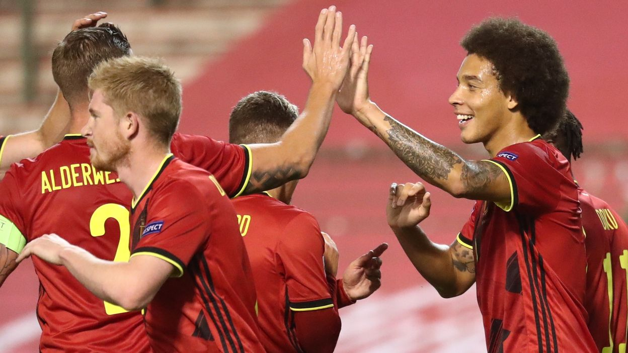 1-1 : But d'Axel Witsel