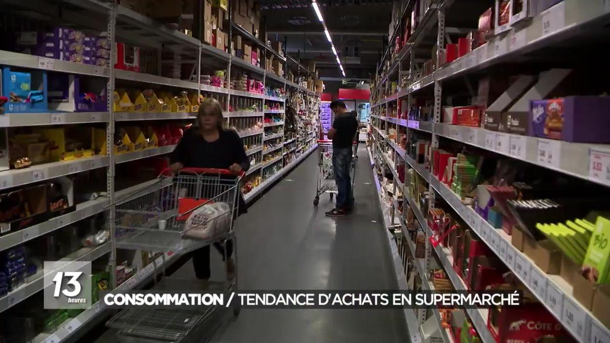 Coronavirus : évolution de la consommation dans les supermarchés