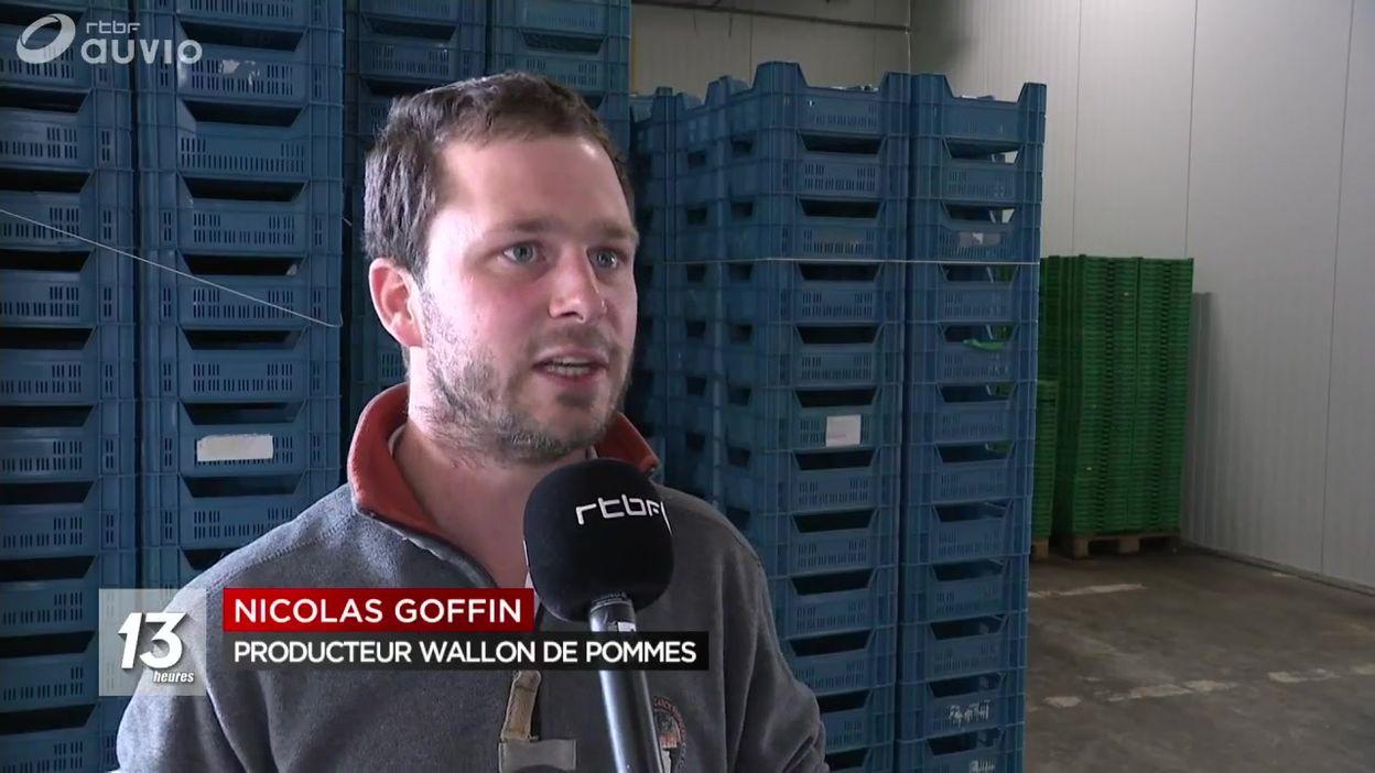 Le stock de pommes belges épuisé
