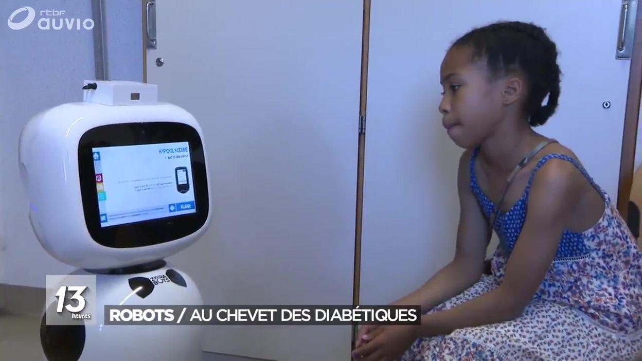 Des robots au chevet d'enfants diabétiques