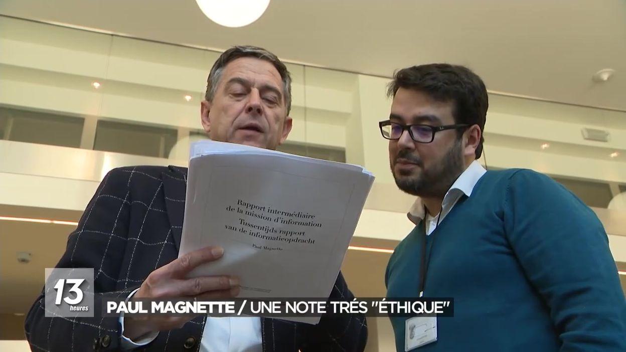 Paul Magnette : une note trés éthique