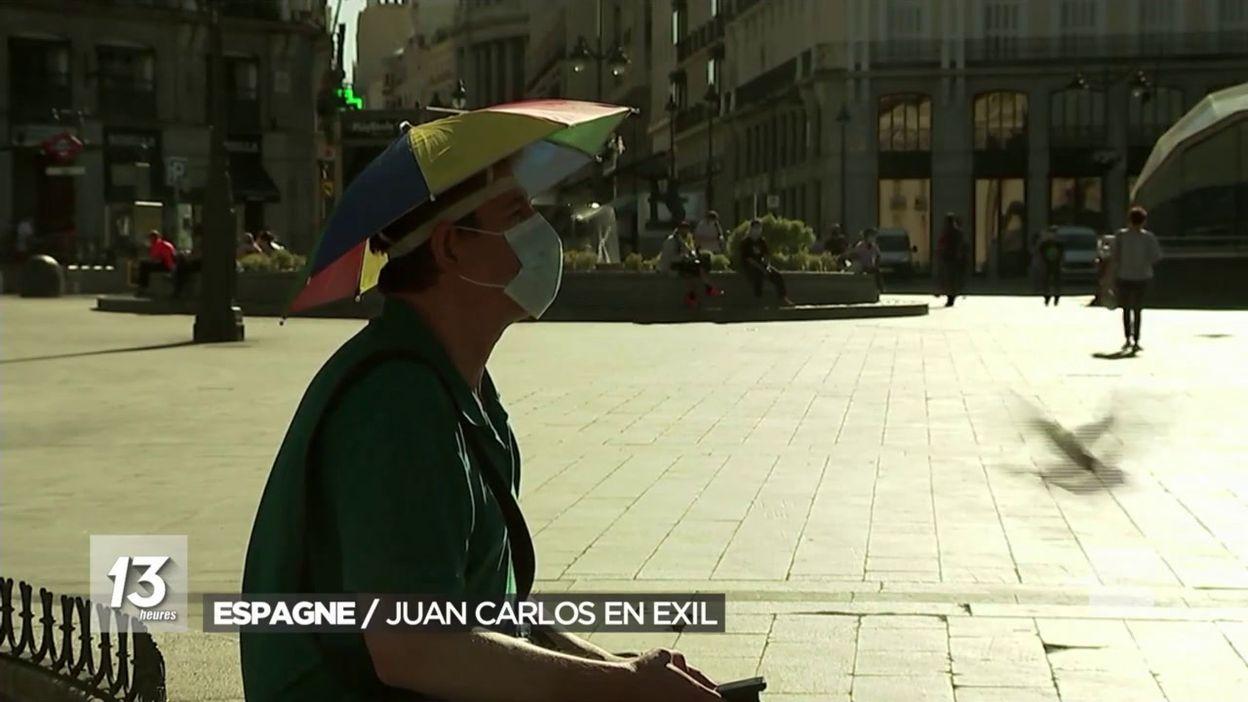 Juan Carlos s exile