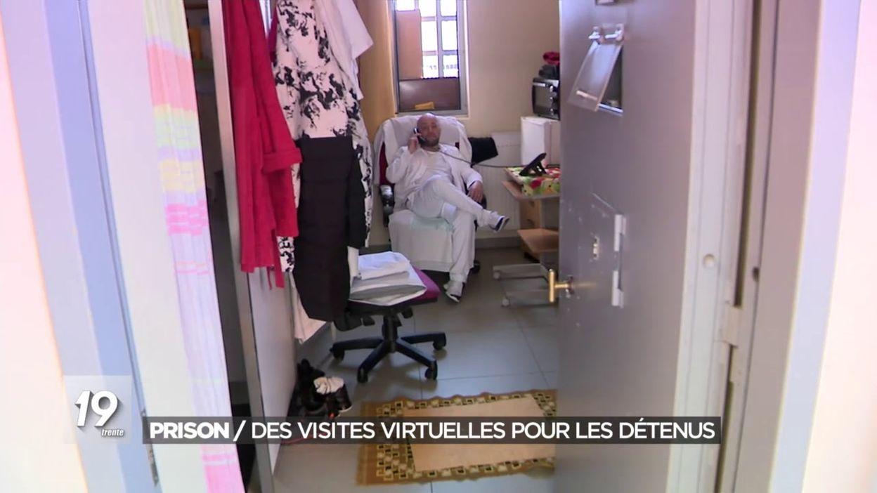 Prison / Des visites virtuelles pour les détenus