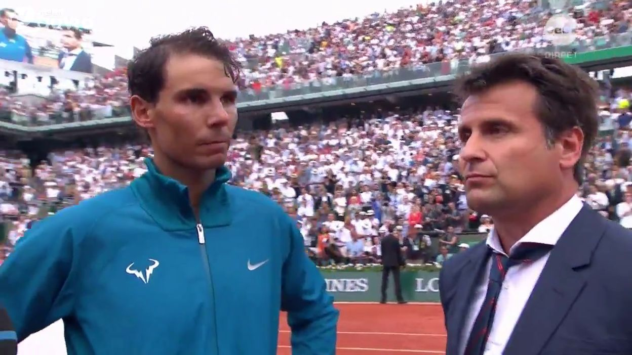 Interview de Rafael Nadal après sa 11ème victoire à Roland Garros