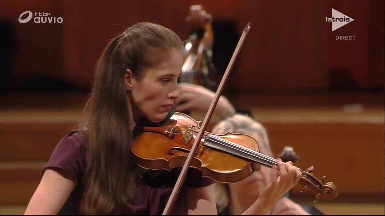 Queen Elisabeth - Júlia Pusker - Mozart, concerto n.1