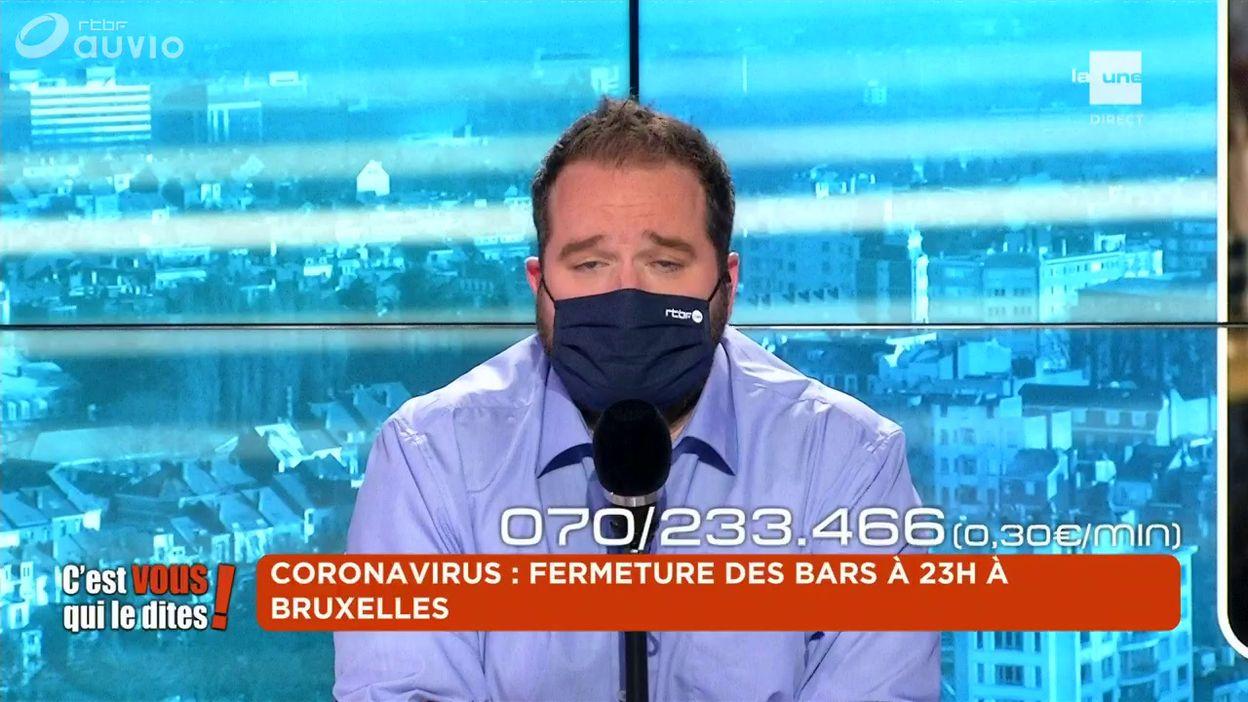 Coronavirus : fermeture des bars à 23h à Bruxelles