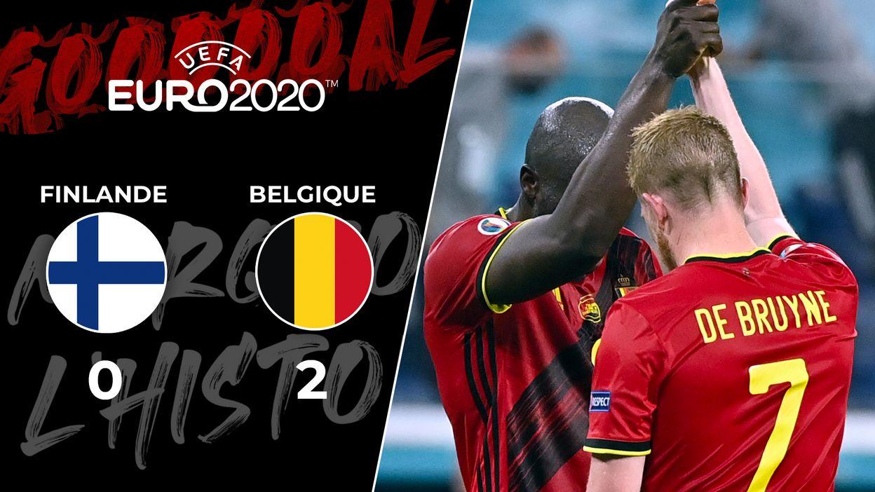 Finlande – Belgique : 21 juin 2021 (0-2)