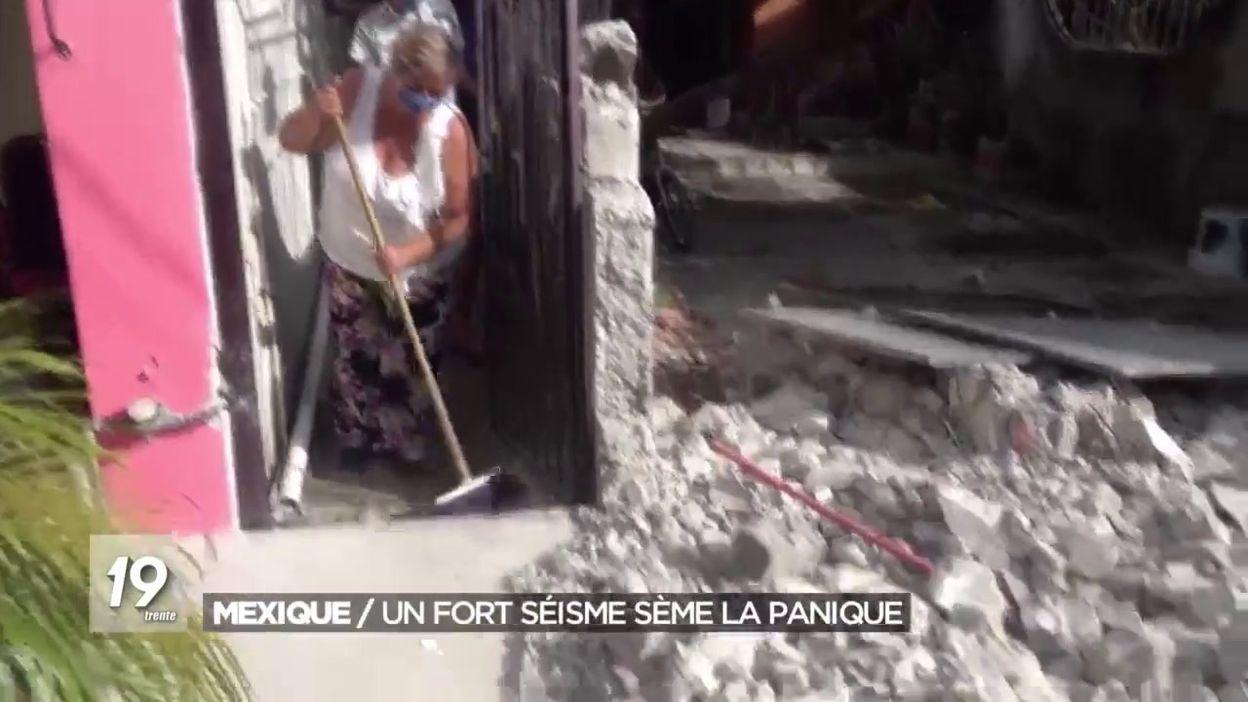 Mexique / Un fort séisme sème la panique