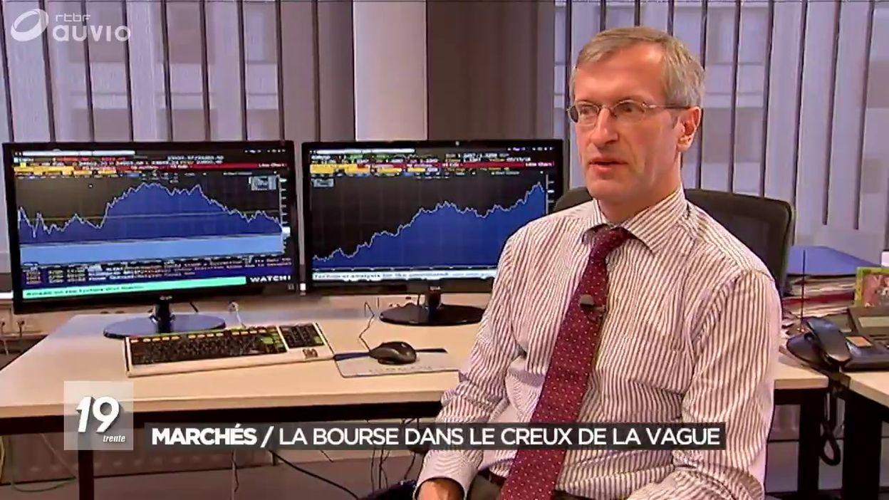 La Bourse dans le creux de la vague