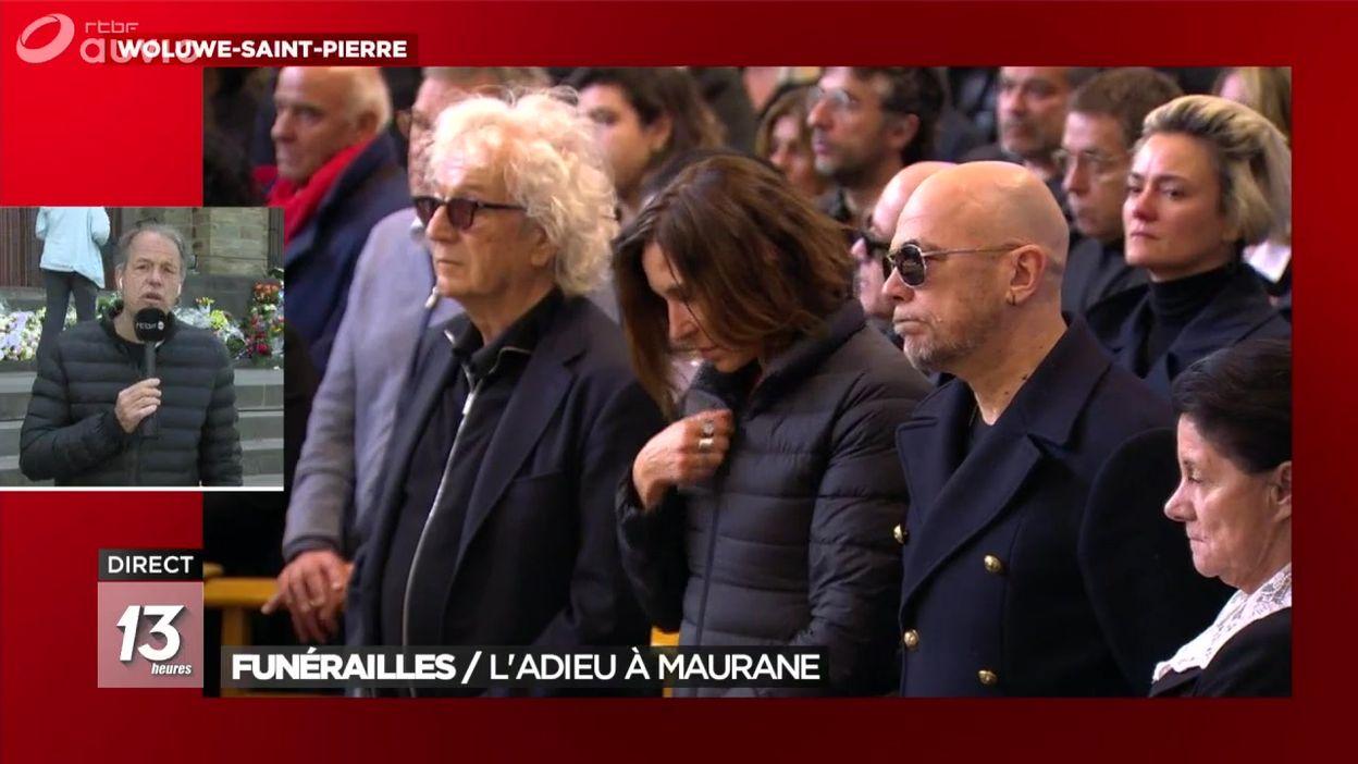 De nombreuses personnalités ont assisté aux funérailles de Maurane