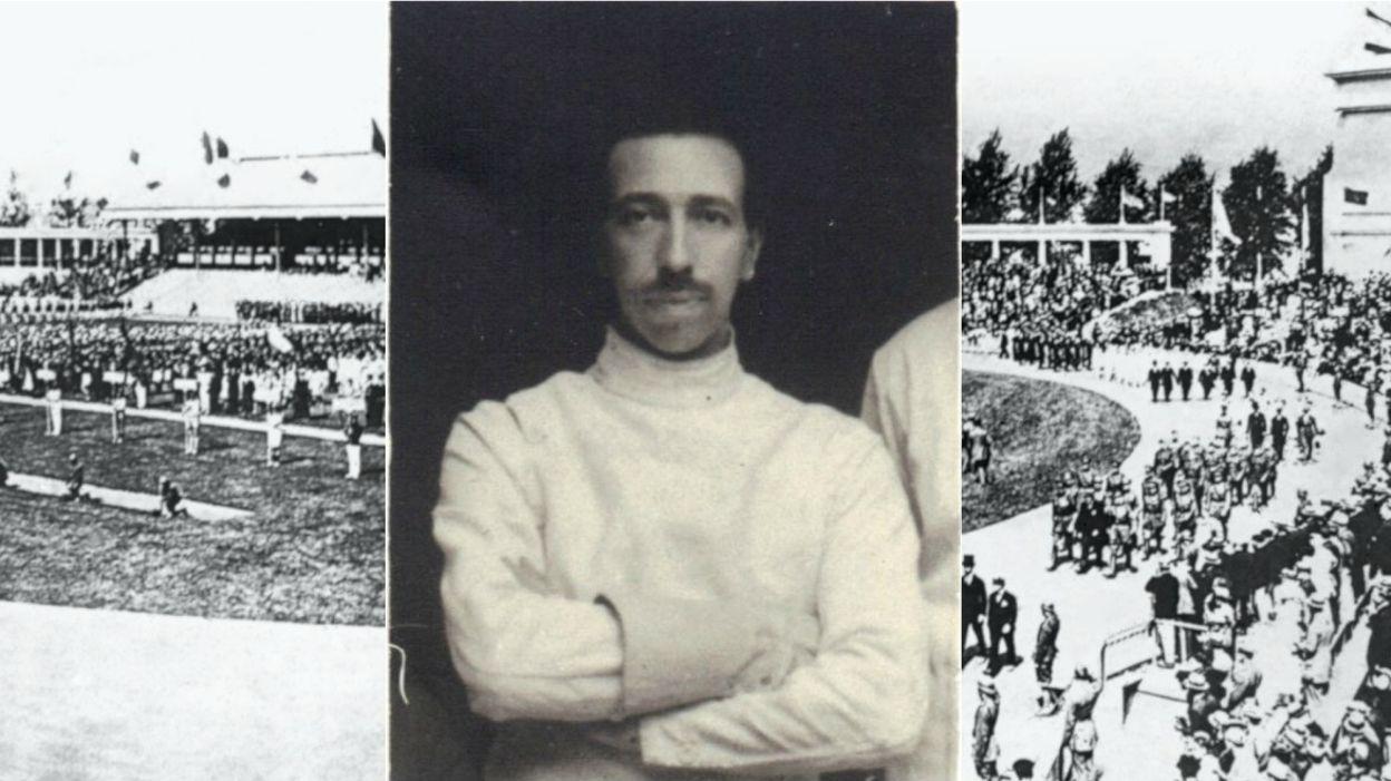 Jean-François de Montigny, fils d'un médaille d'Anvers, architecte du Stade Olympique