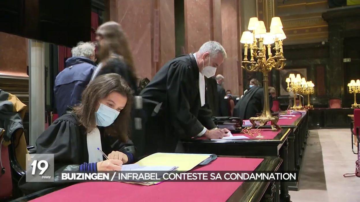 Buizingen : Infrabel conteste sa condamnation