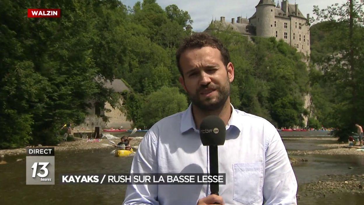 Kayaks / Rush sur la basse Lesse