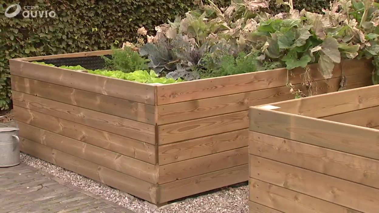 Potager Mobile En Bois le jardin de baudouin, l'architecte paysagiste - le potager - extrait  jardins et loisirs du