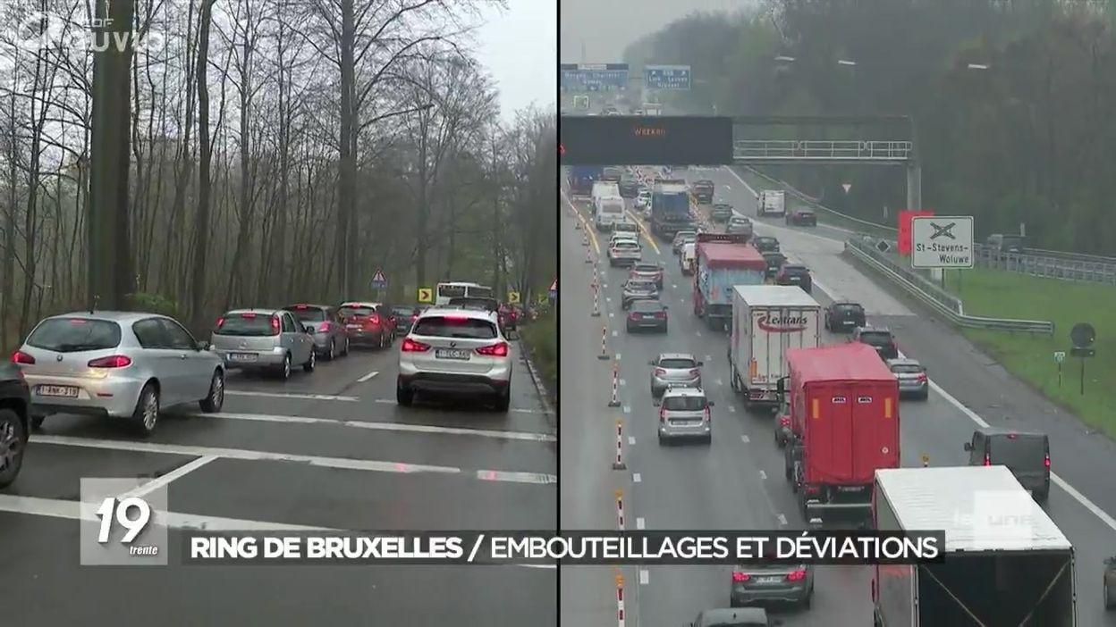 Le point sur les embouteillages du ring de Bruxelles