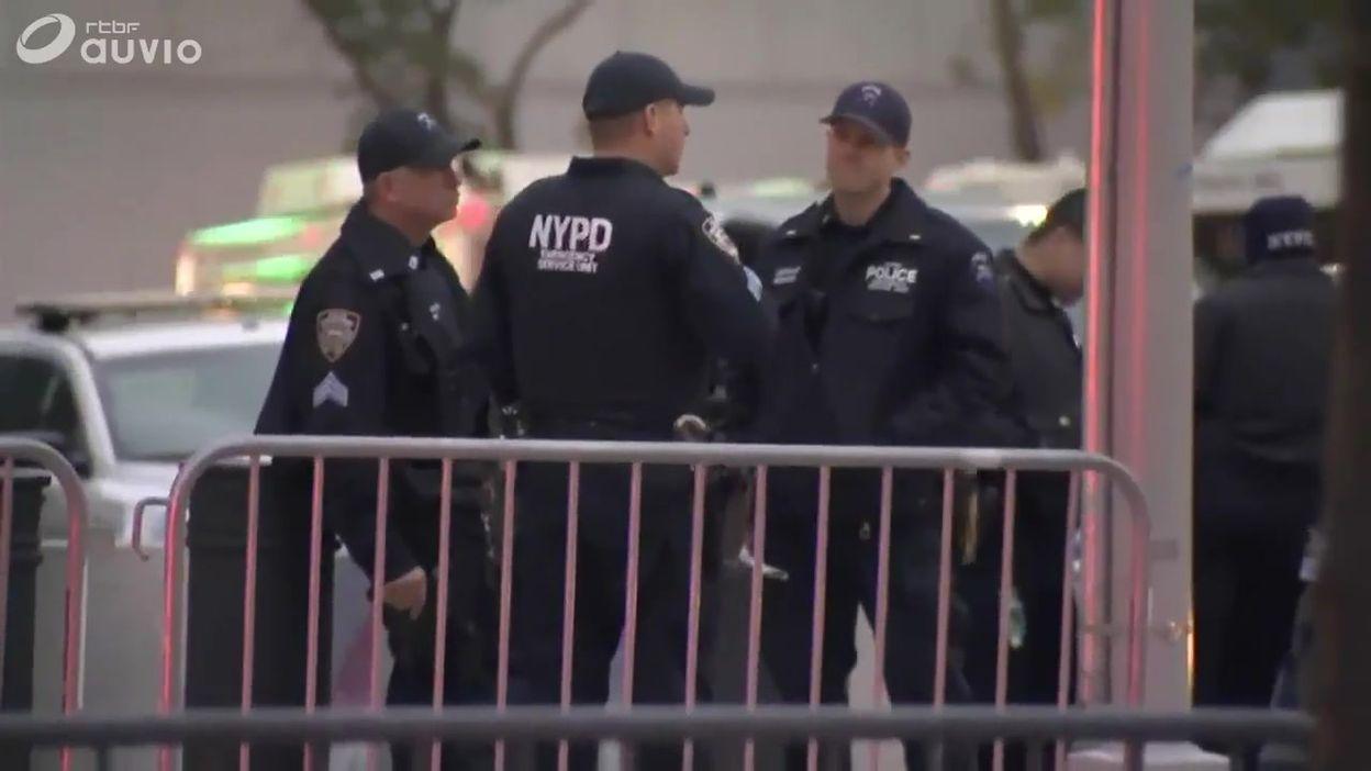 D'importantes mesures de sécurité ont été mises en place au tribunal de New York en vue du procès
