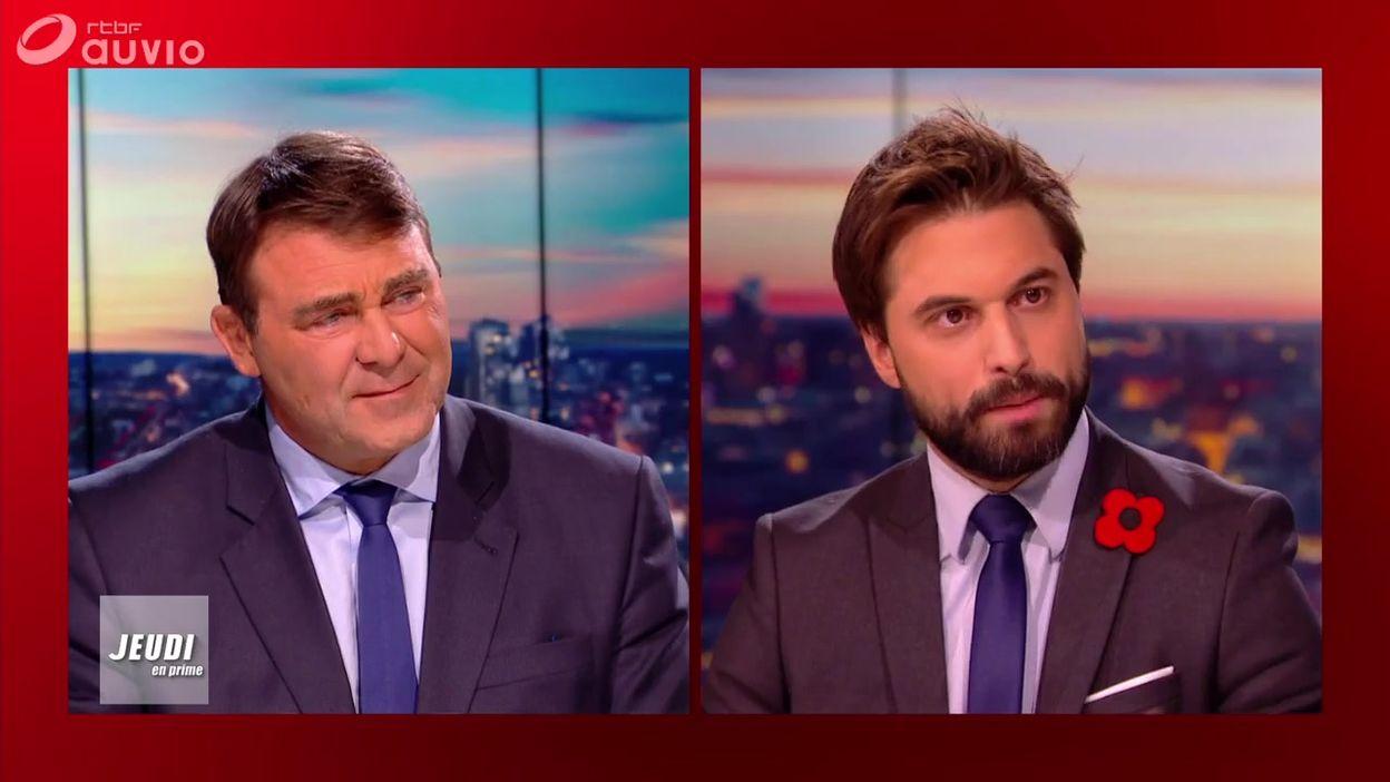 Jeudi en prime : Georges-Louis Bouchez et Denis Ducarme