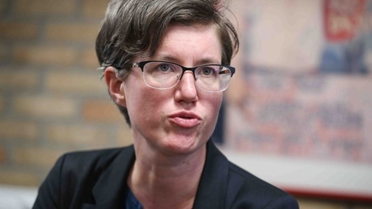 Catherine Moureaux après le départ du PTB à Molenbeek