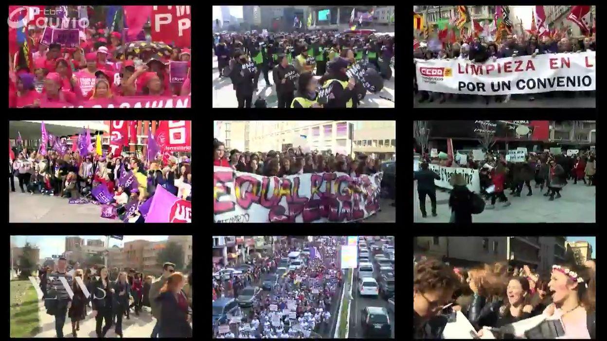 8 Mars Journee Internationale Des Droits Des Femmes Tour Du