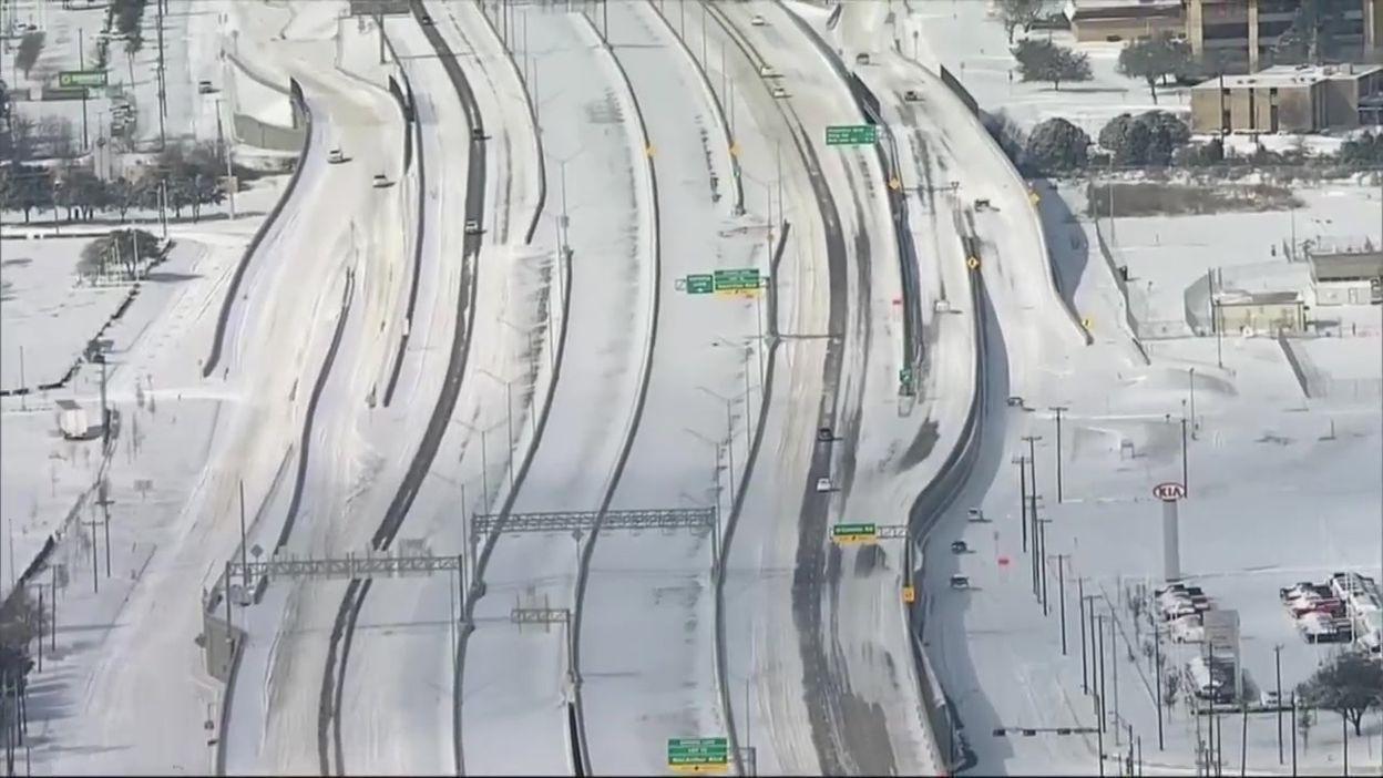 Texas sous la neige