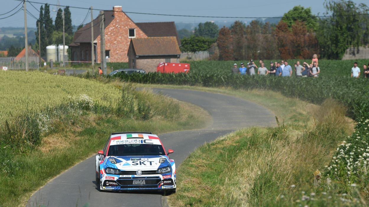 Craig Breen gagne le Rallye d'Ypres