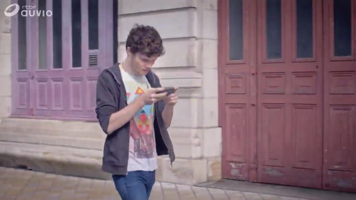 Appli pour éviter les accidents de Smartphone