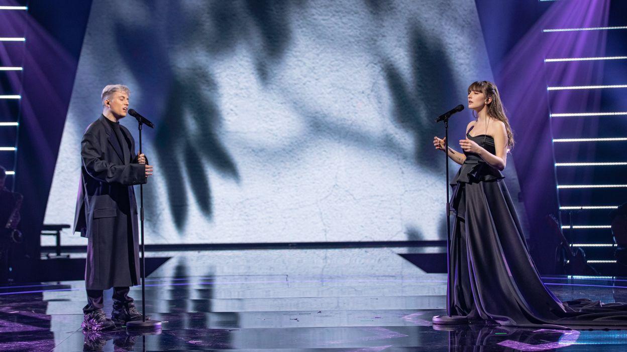 Loïc Nottet et Orlane chantent