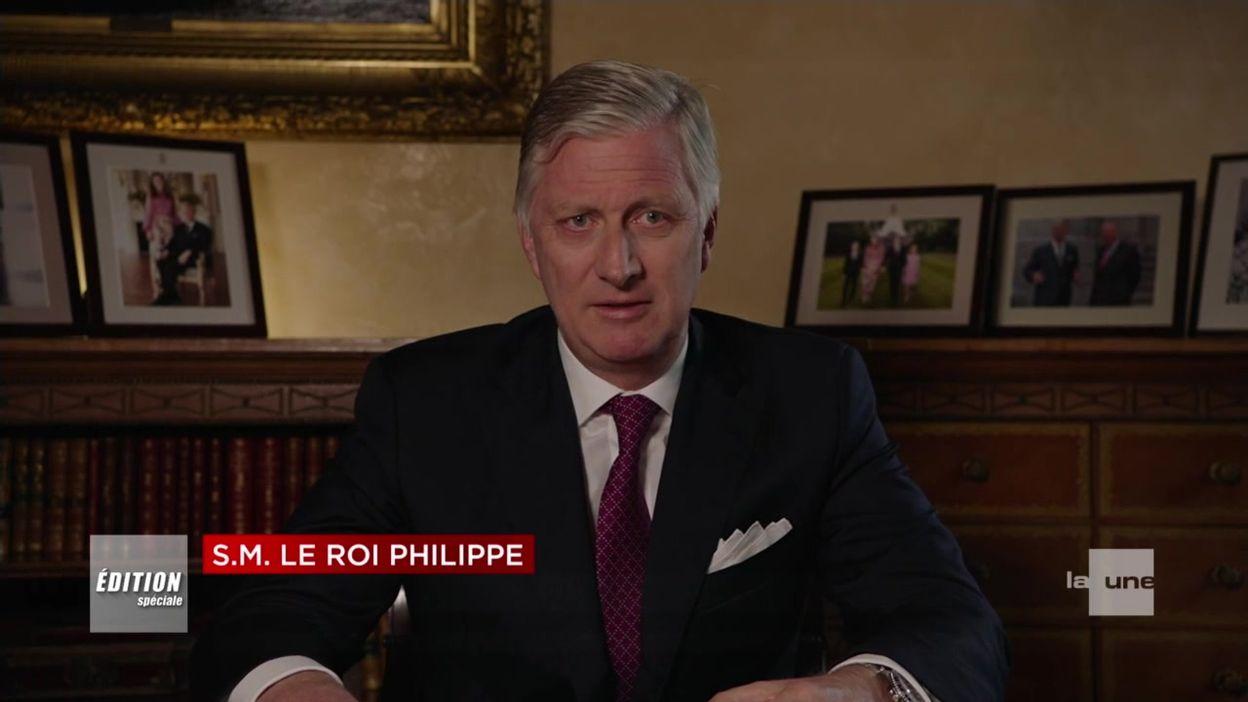 Crise du coronavirus : le Roi Philippe demande aux Belges de prendre leur responsabilité