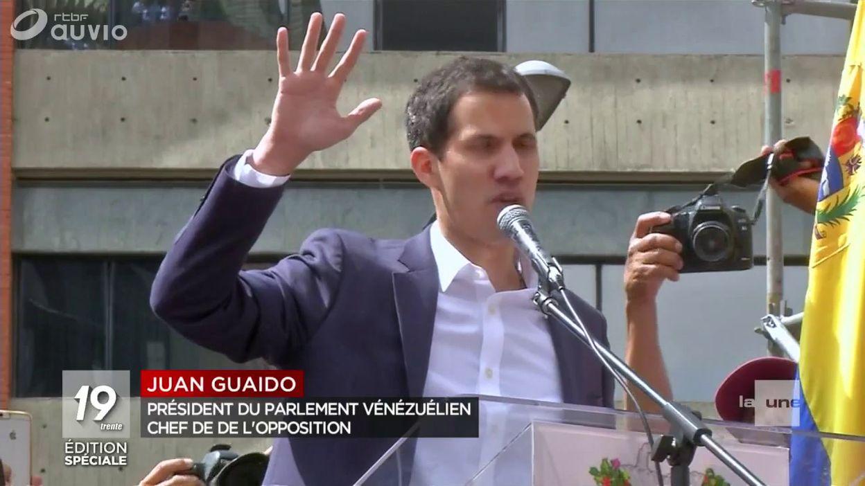 Venezuela : un nouveau président autoproclamé