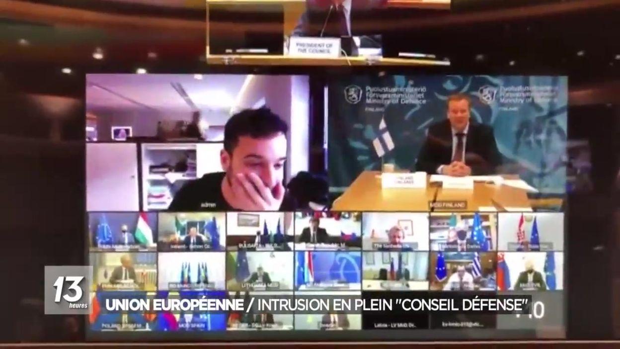 Union européenne : l'intrusion d'un journaliste néerlandais en plein conseil de la Défense