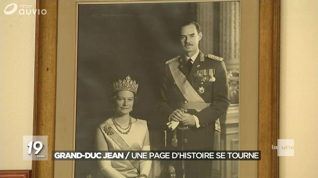 Décès du Grand-Duc Jean de Luxembourg
