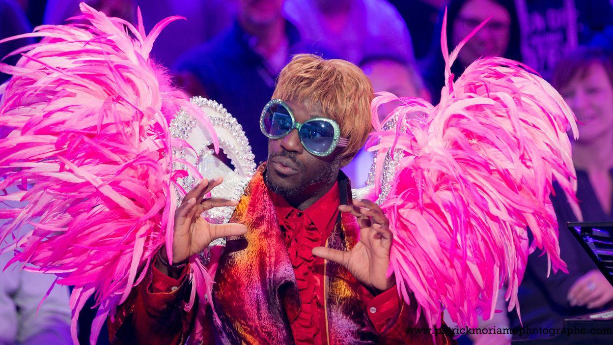 Elton John, le roi de la pop anglaise, fait le show sur le plateau du Grand Cactus !