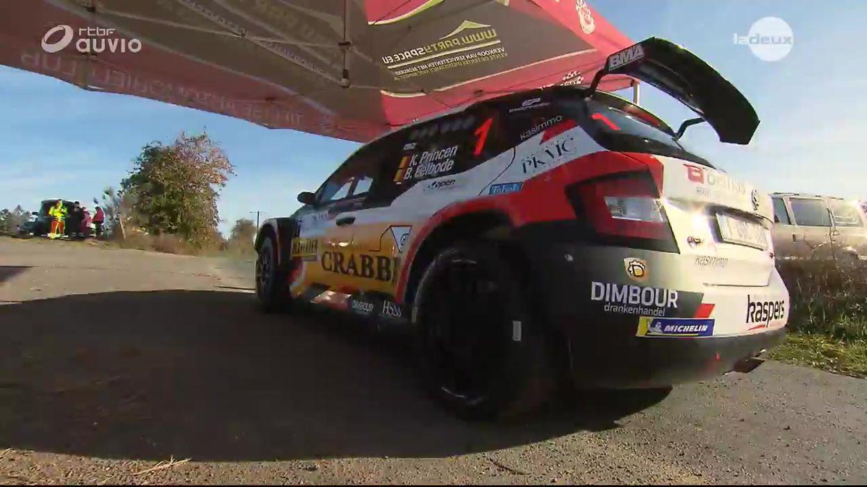 East Belgian Rally 2018 : Victoire de Kris Princen