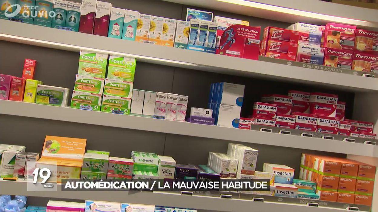 Santé : deux tiers des Belges pratiquent l'automédication