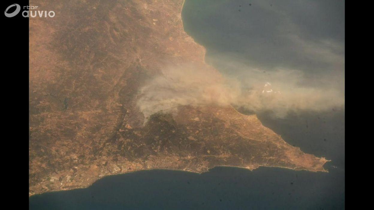 L'Europe, brûlée par la sécheresse, vue de l'espace? (diaporama)