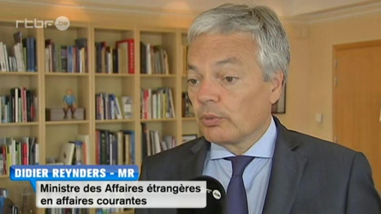 Incident diplomatique entre la Belgique et Israel