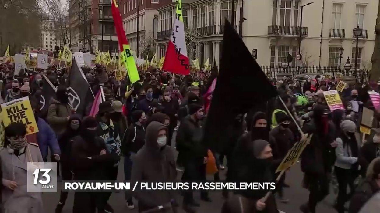 Royaume-Uni : rassemblements contre un projet de loi
