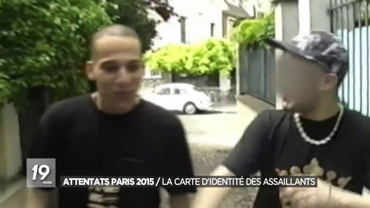 Attentats Paris 2015 / La carte didentité des assaillants