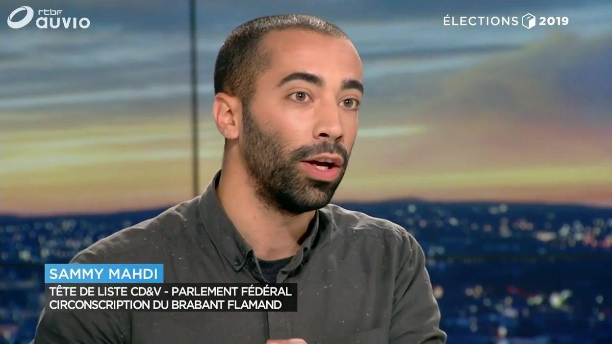 Sammy Mahdi (CD&V) choqué par les scores du Vlaams Belang