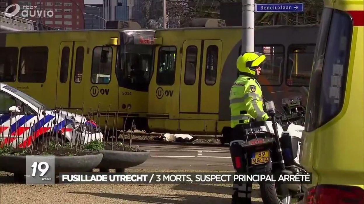 Fusillade Utrecht : le suspect principal a été arrêté