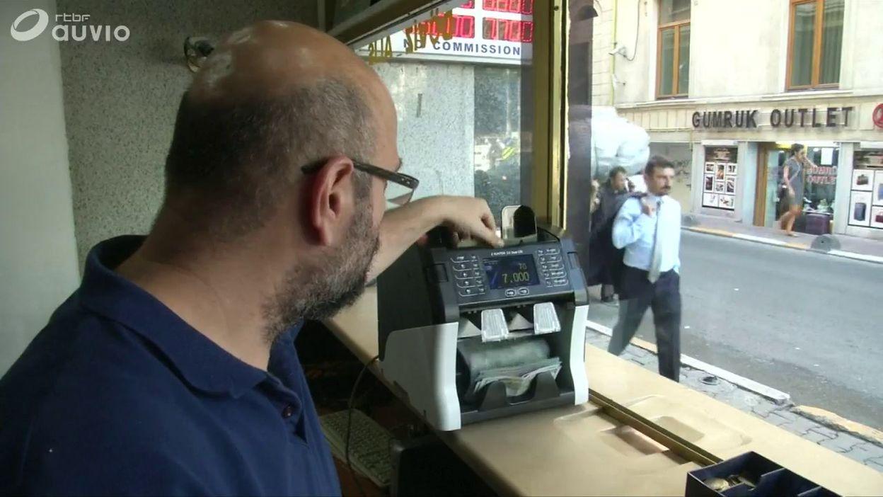 Turquie: bureau de change à istanbul ce 13 août 13 08 2018