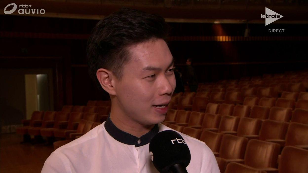 L'interview bord de scène de Timothy Chooi