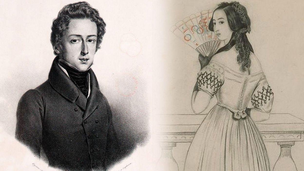 Feuilleton Frédéric Chopin, George Sand, correspondances :