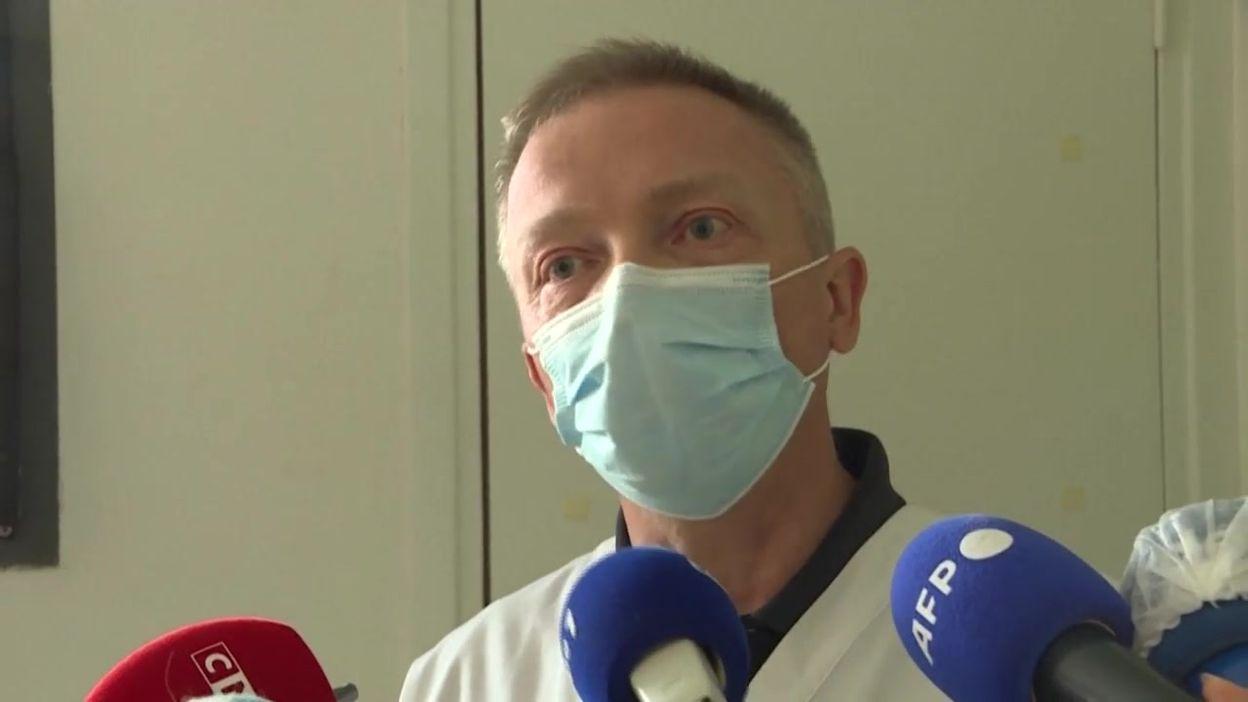 Dunkerque: hôpital assiégé par la marée du variant anglais