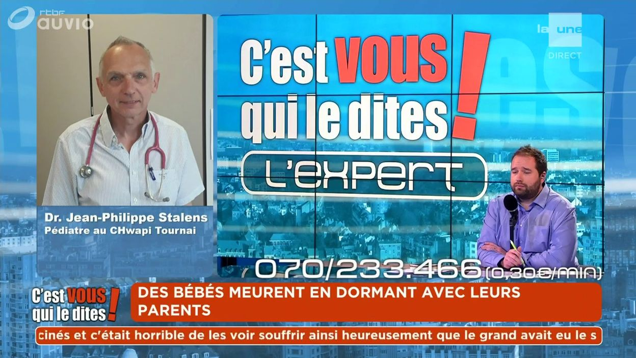 L'expert du débat : Dr. Jean-Philippe Stalens - Pédiatre au CHwapi Tournai