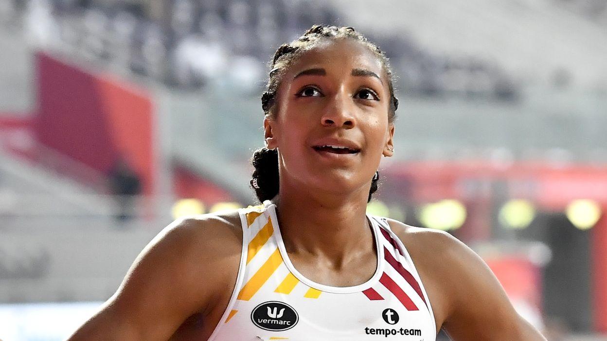 Le 200m de Nafi Thiam à Doha (24.60)